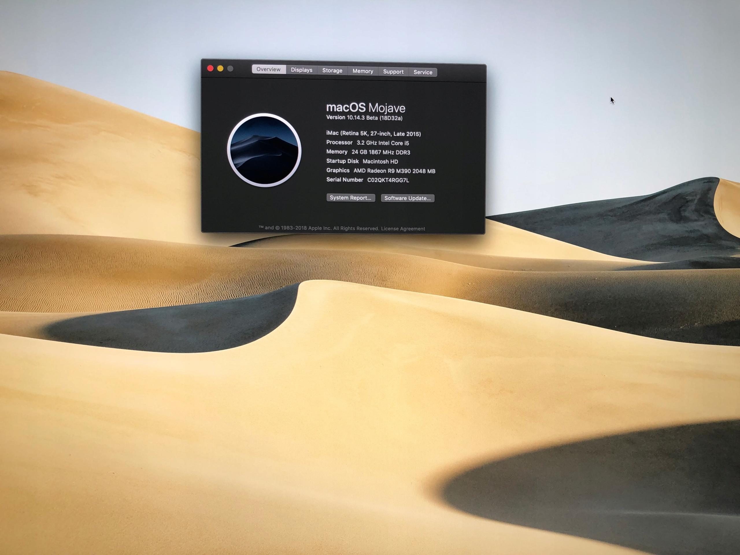 iMac 27 5K i5 3,2GHz 24GB 1TB Fusion R9 M390 2GB