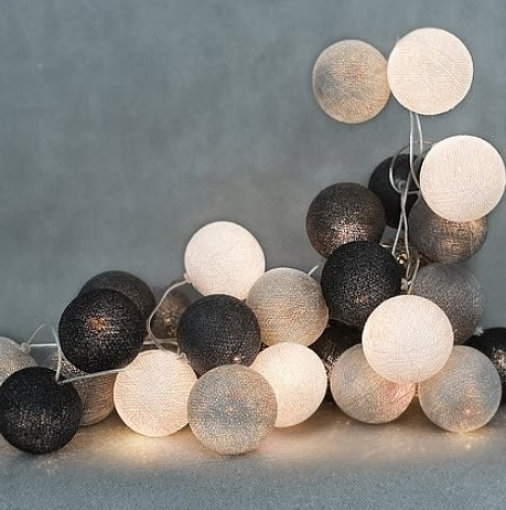 Lampki Ozdobne Kulki Kule Kolorowe łańcuch Led 7235991325