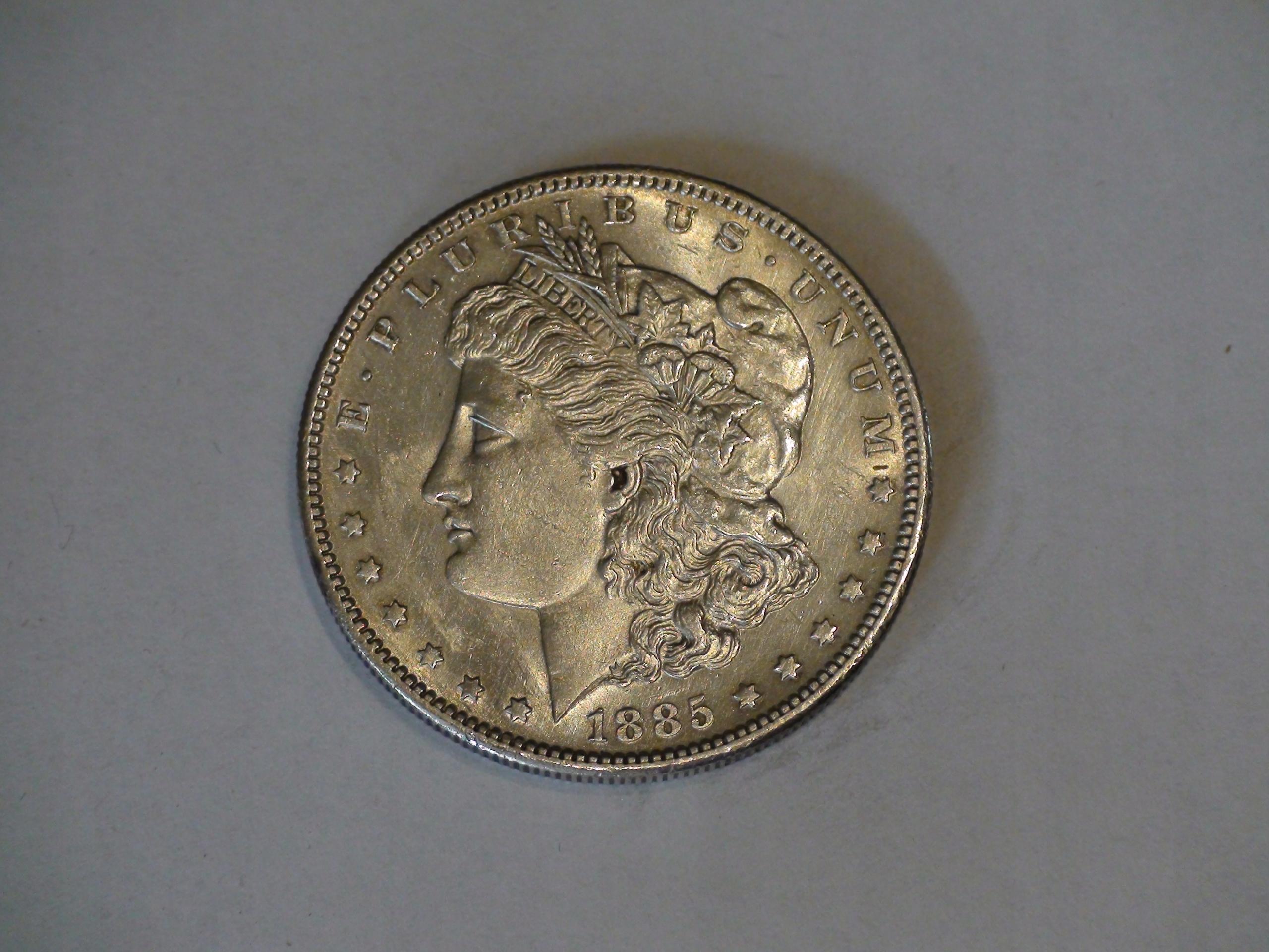 One Dollar Morgan 1885S
