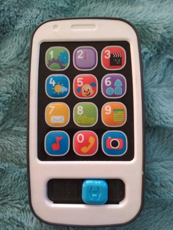telefon smartfon Fisher Price j. polski