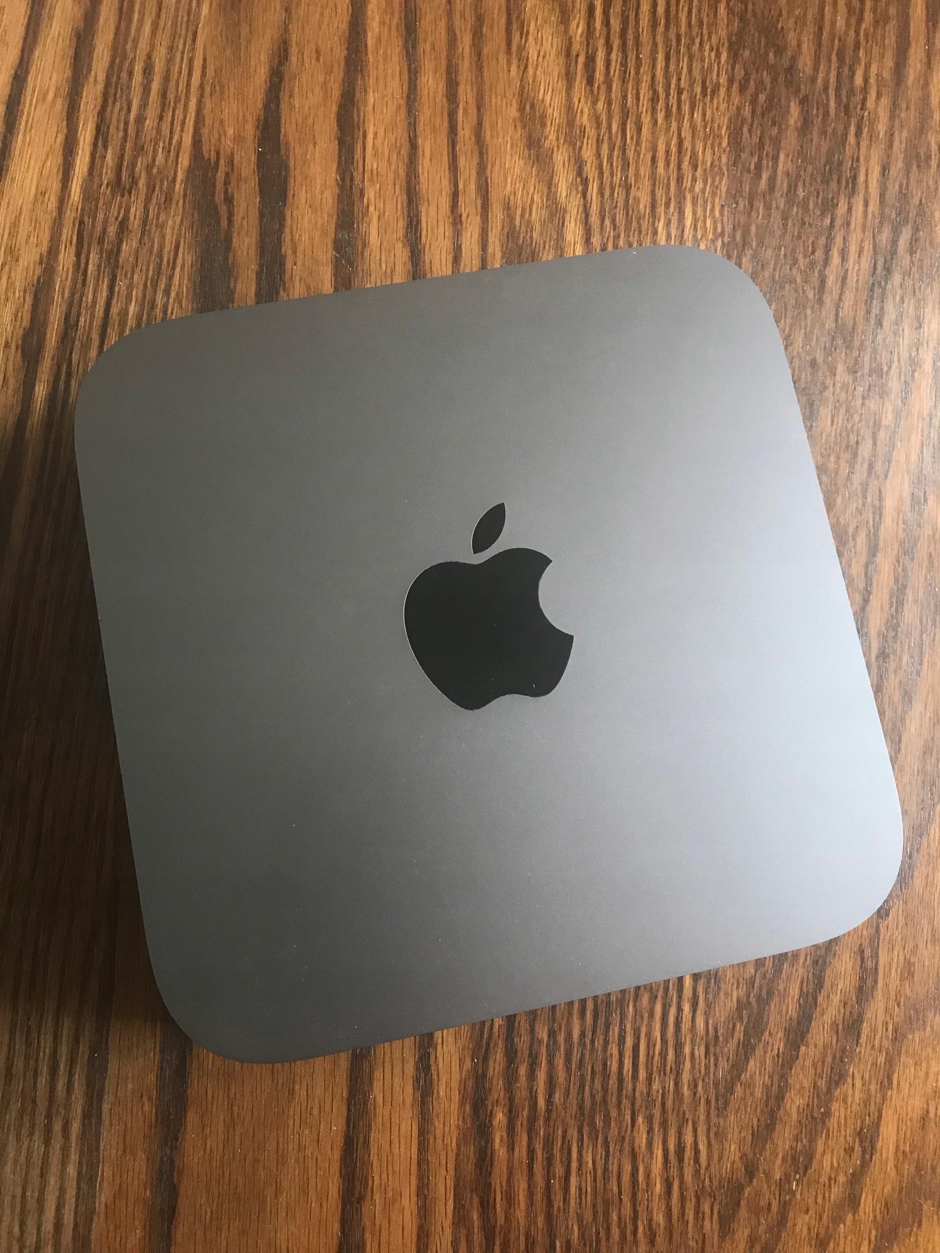 Mac mini 2018 i7/8GB/128GB SSD