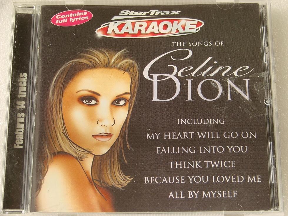 KARAOKE - The songs of Celine Dion CD 1999 UK BDB
