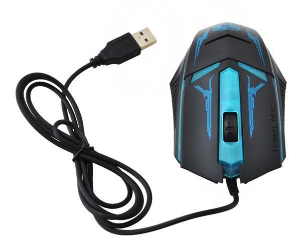 Przewodowa ( USB ) myszka dla graczy i nie tylko