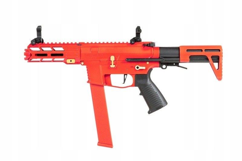 Pistolet maszynowy AEG Nemesis X9 - Czerwony
