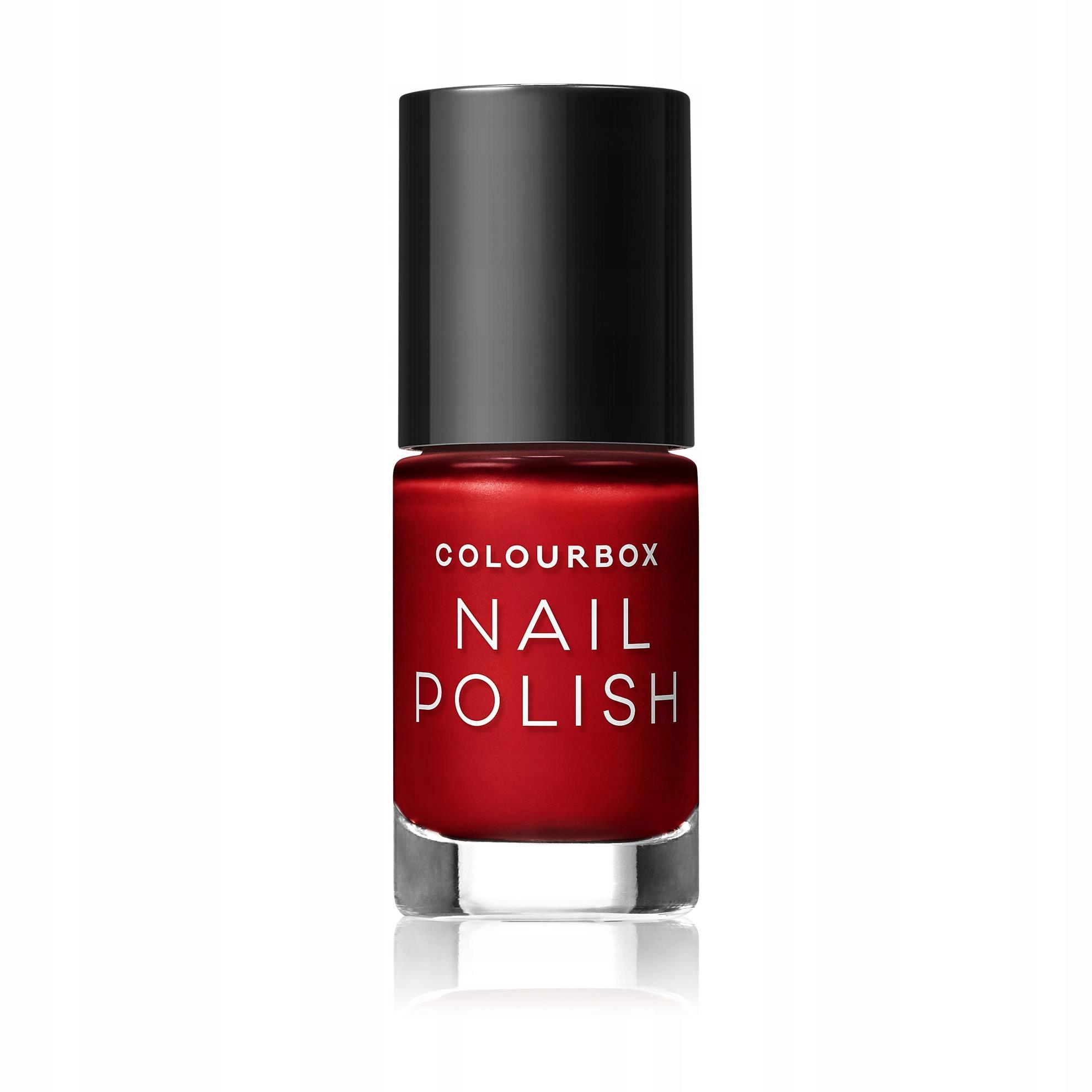 Oriflame Lakier do paznokci Colourbox SOFT RED