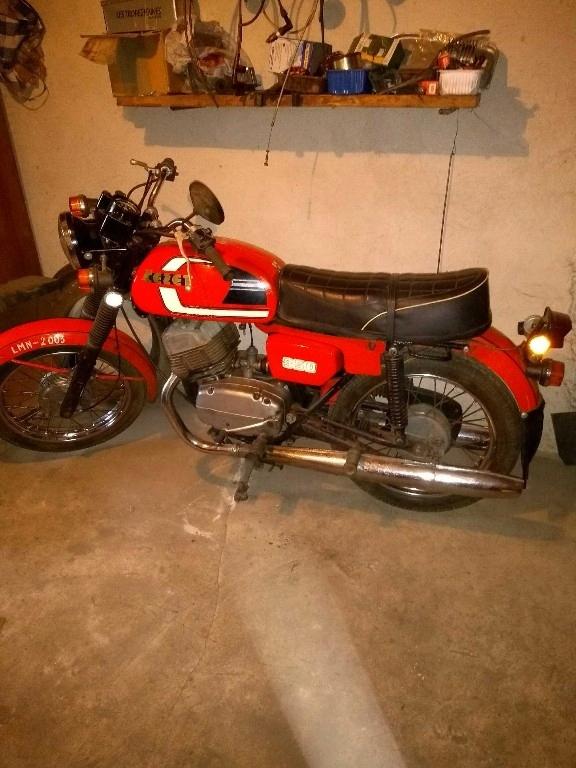 Motocykl CZ 350