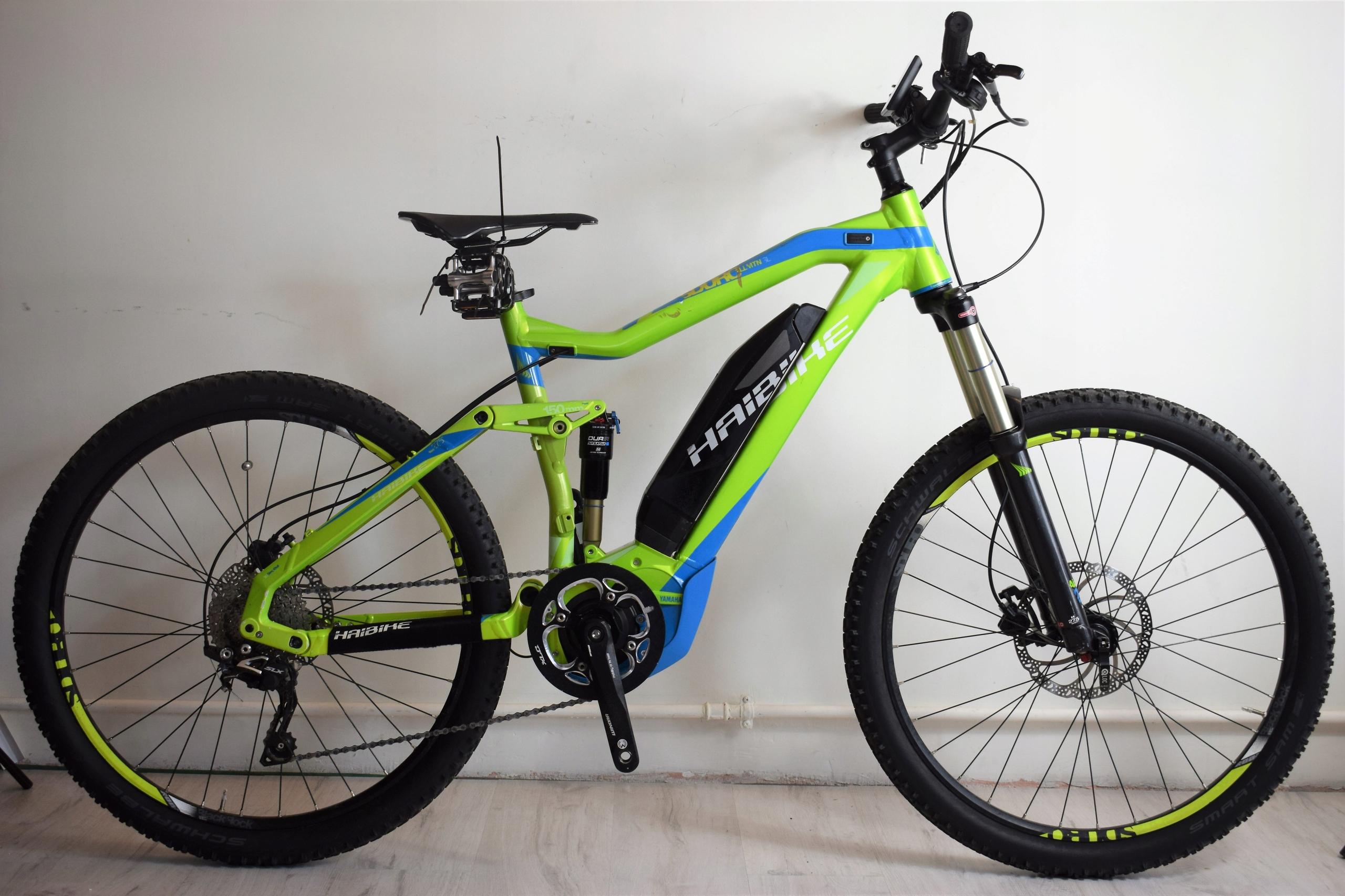 Rower Elektryczny HAIBIKE 27,5* 45km/h Yamaha VIP