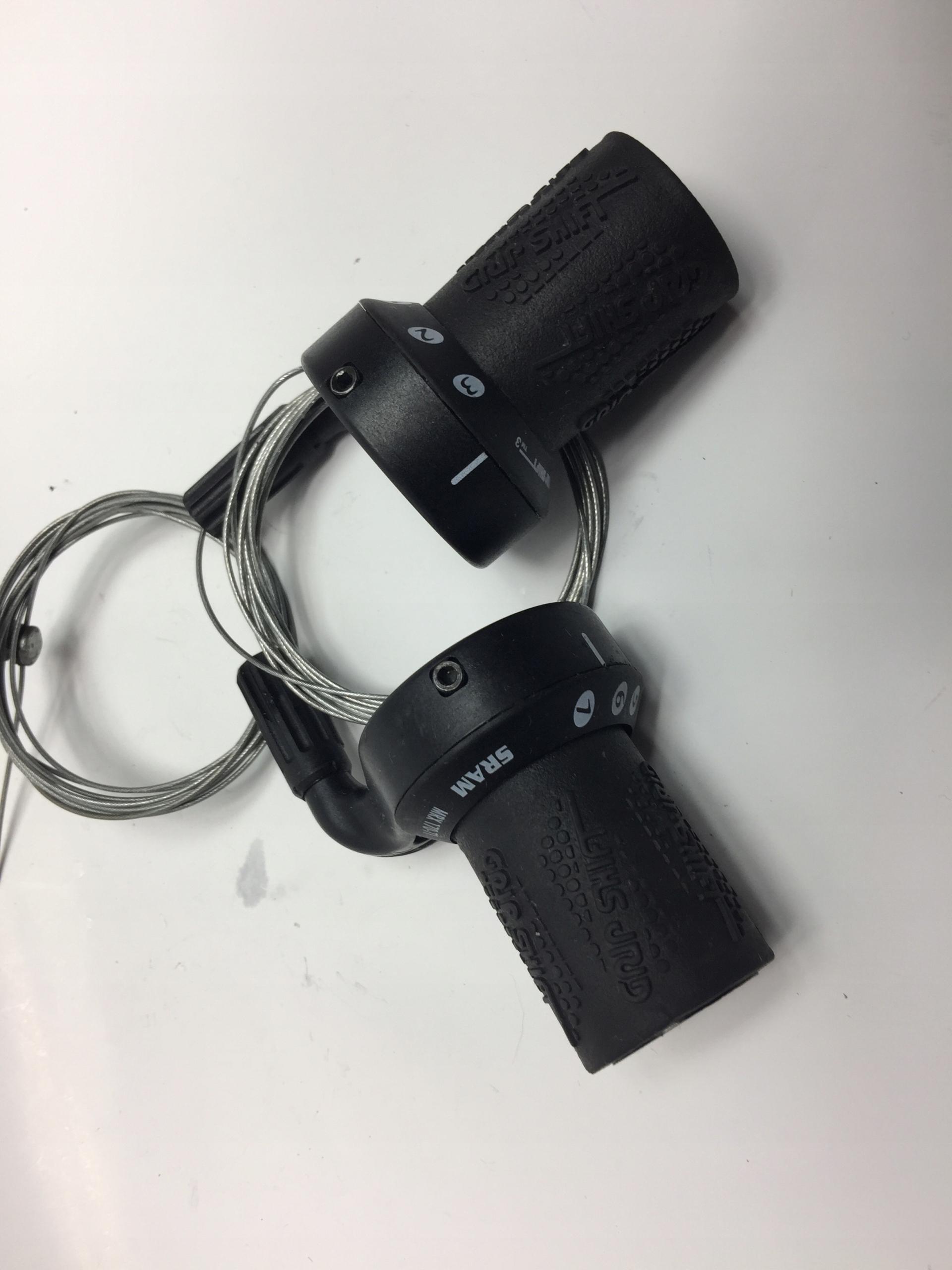 Manetki Manetka Sram 3x7 GripShift Shimano Retro