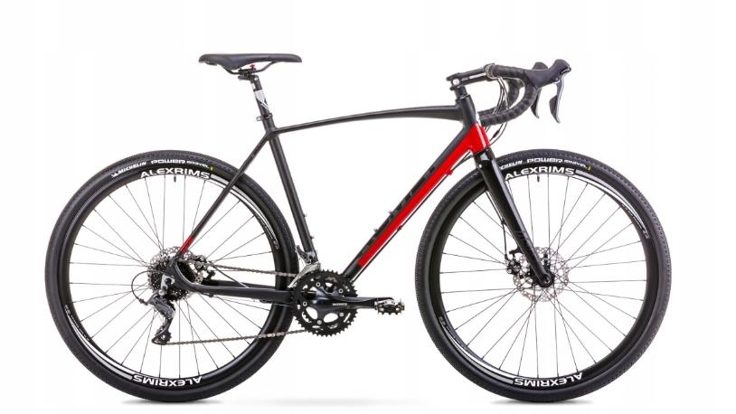 Rower ROMET ASPRE czarno-czerwony 54 2019