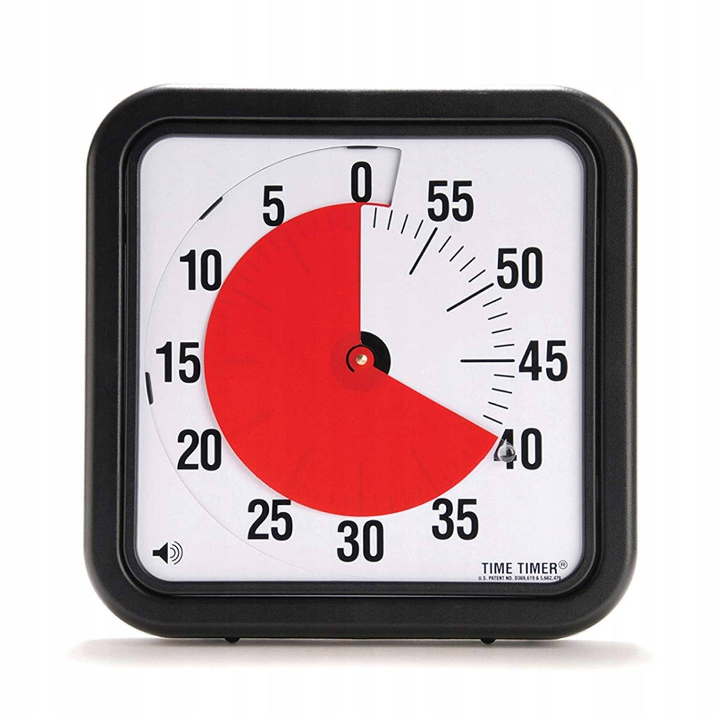 TIME TIMER CZASOWY MINUTNIK 60 SEKUND 30X30 54075