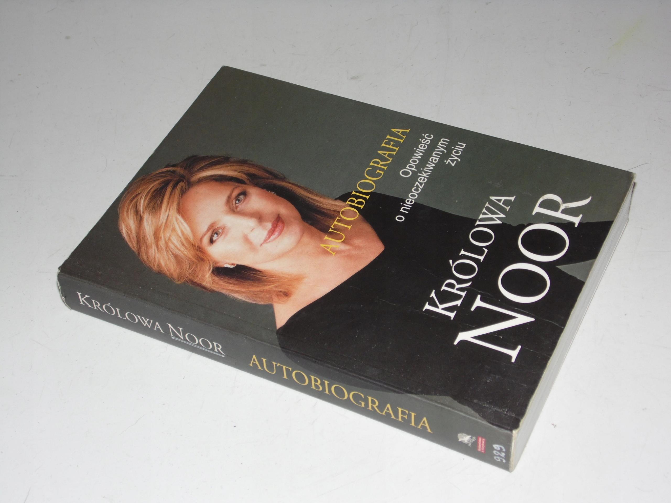 Autobiografia - Królowa Noor