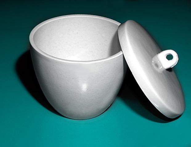 Tygiel porcelanowy z przykrywką 30 ml