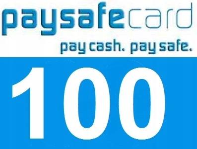 kody paysafecard PSC 100 zł