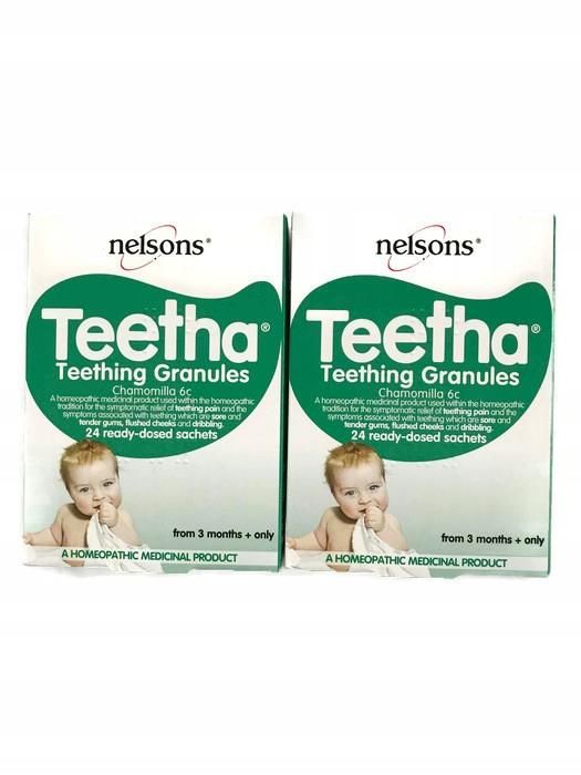 TEETHA Nelson Homeopatyczne granulki na zabkowanie