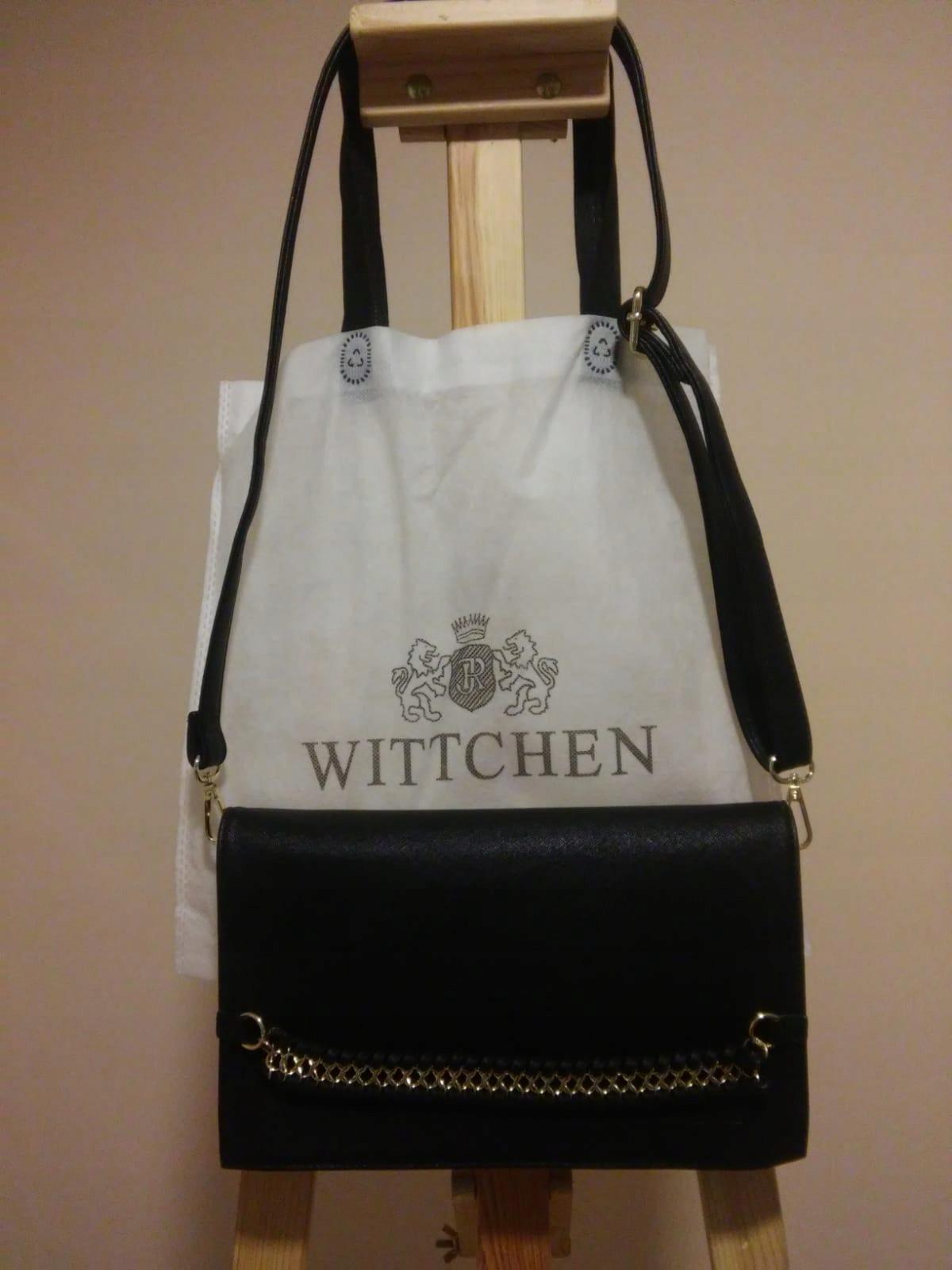Oryginalna torebka kopertówka wizytowa WITTCHEN!