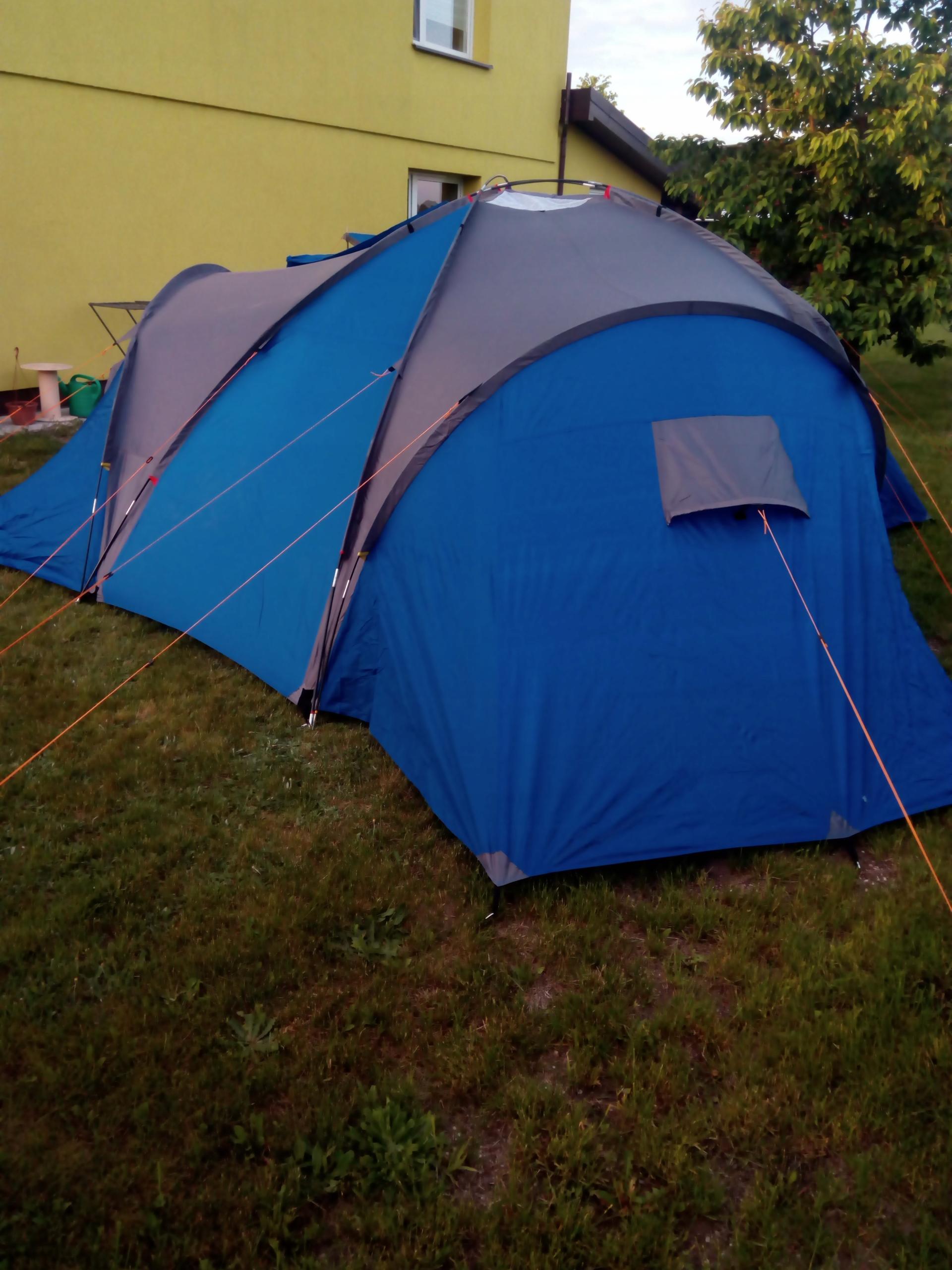 Namiot 6 osobowy 3 sypialnie
