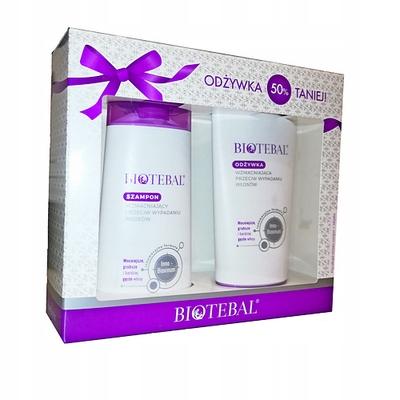BIOTEBAL ZESTAW szampon+odżywka 2x200 ml. 30956