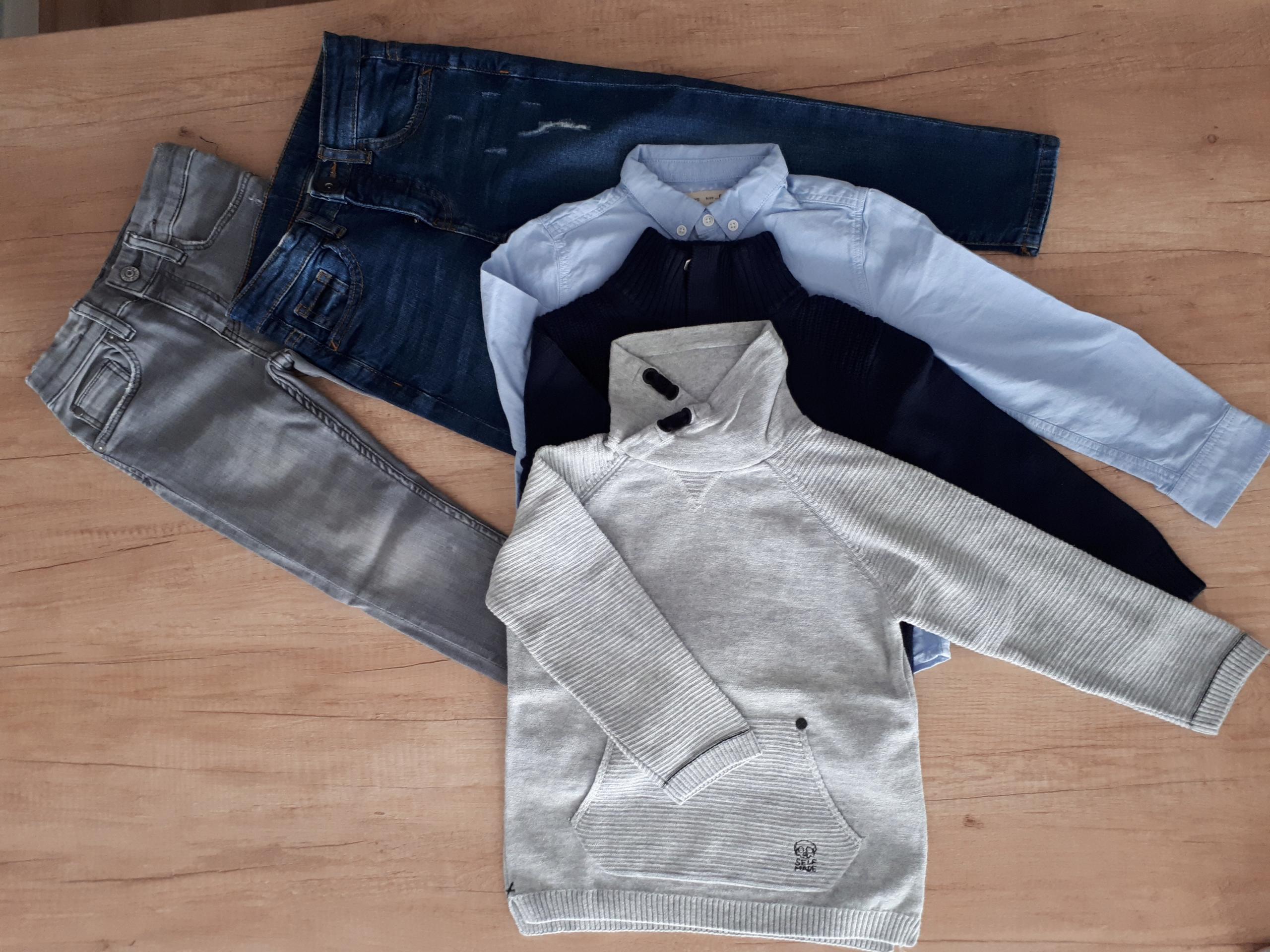 Zara, H&M zetaw ubrań dla chłopca 110cm, 116cm