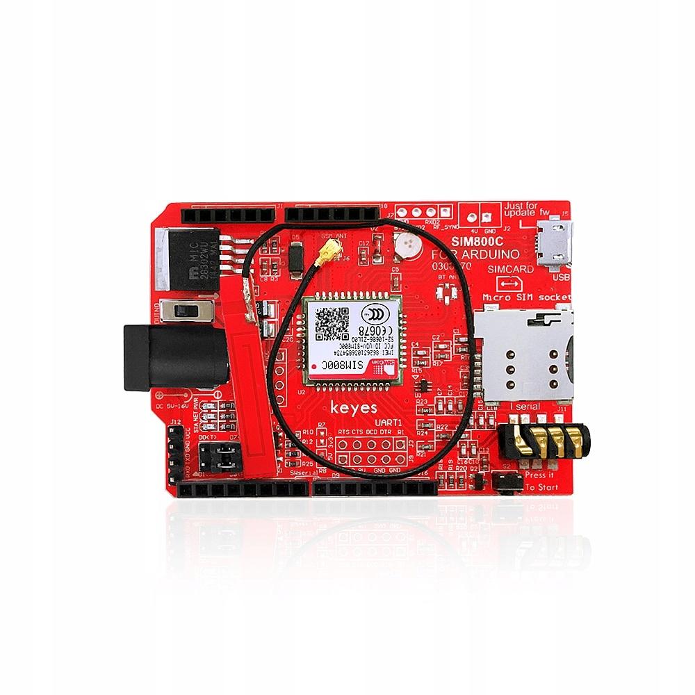 Arduino GSM / GPRS / SIM800C Shield