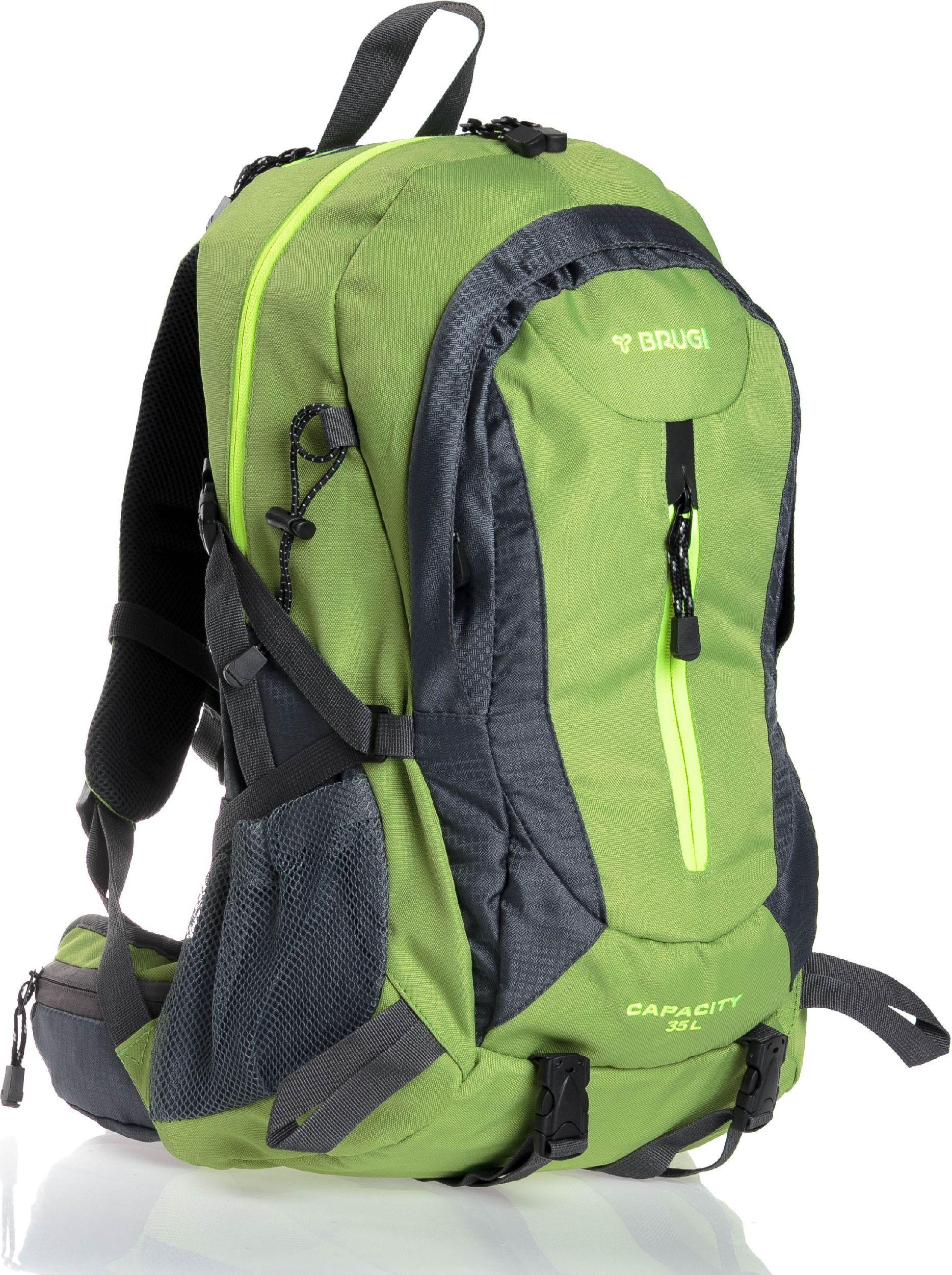 Brugi Plecak trekkingowy 4ZF7 SXT 35 Brugi zielony