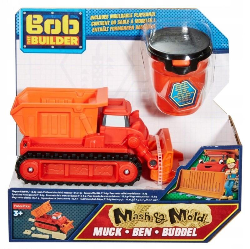 BOB Spychacz Muck i piasek kinetyczny GXP-556068