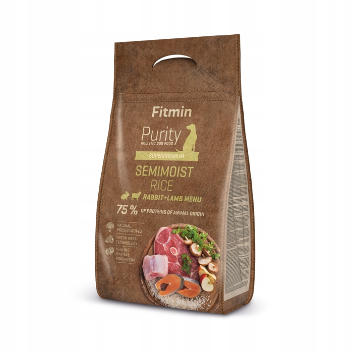 Fitmin Purity Rabbit Lamb PÓŁMOKRA KRÓLIK 1600g