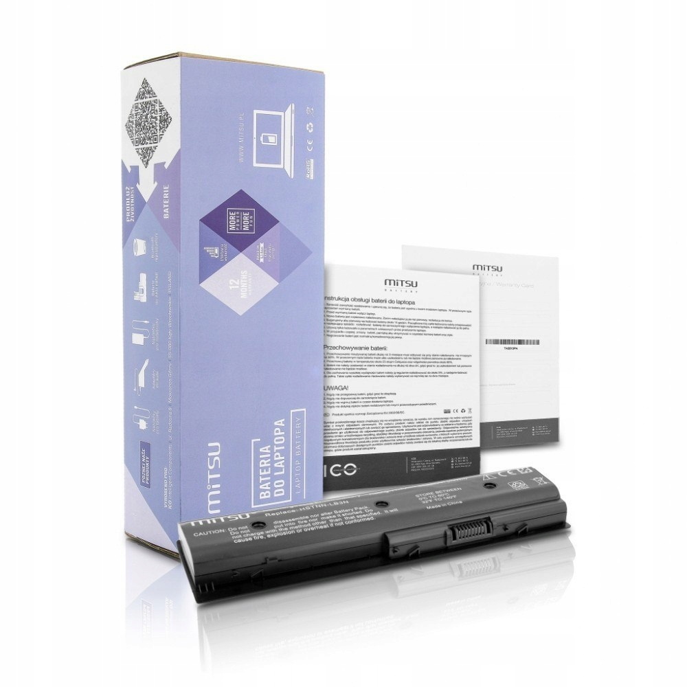 Bateria do HP dv4-5000, dv6-7000 4400 mAh (49 Wh)