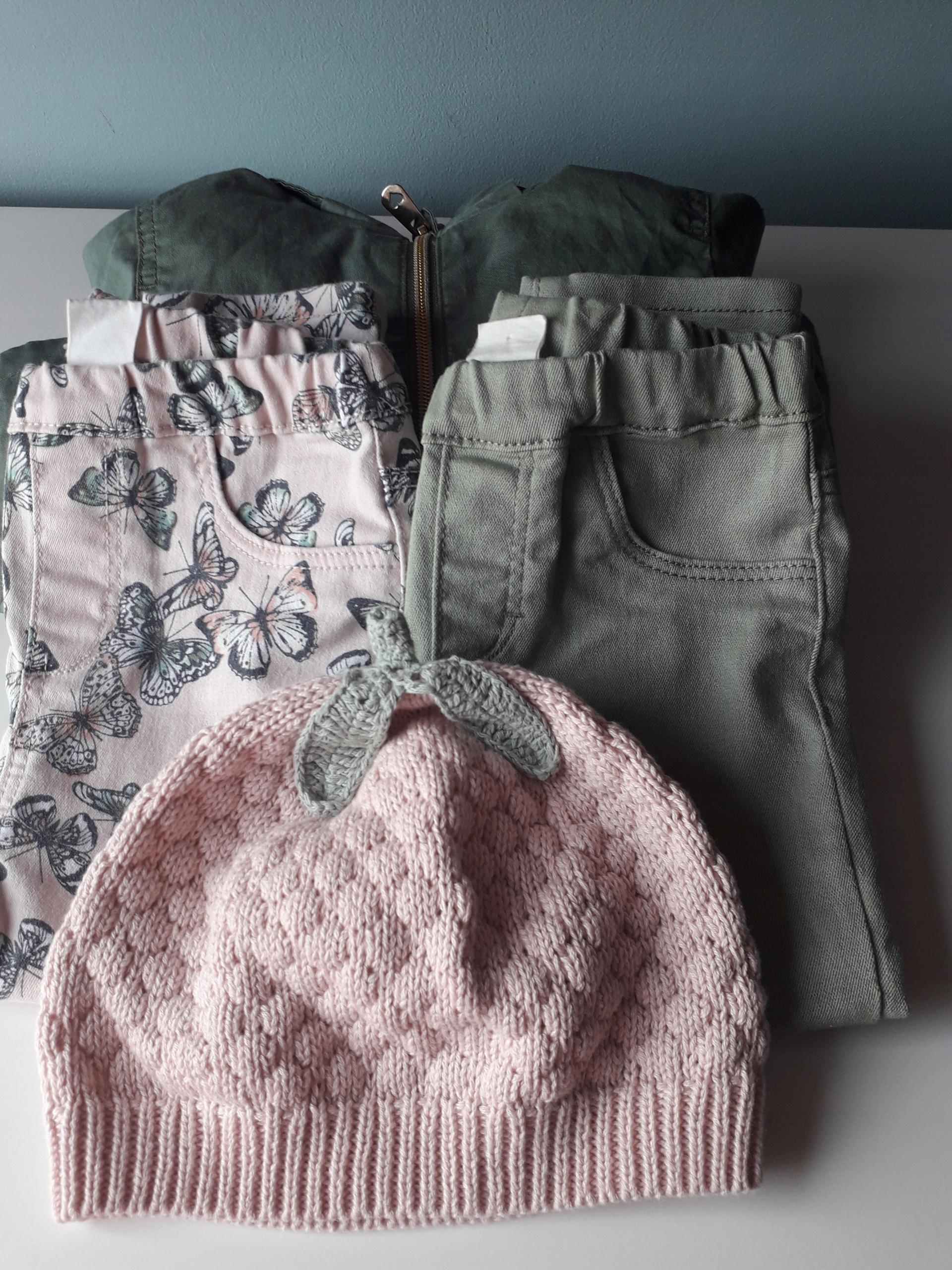 Zestaw dla dziewczynki na ciepłą jesień H&M