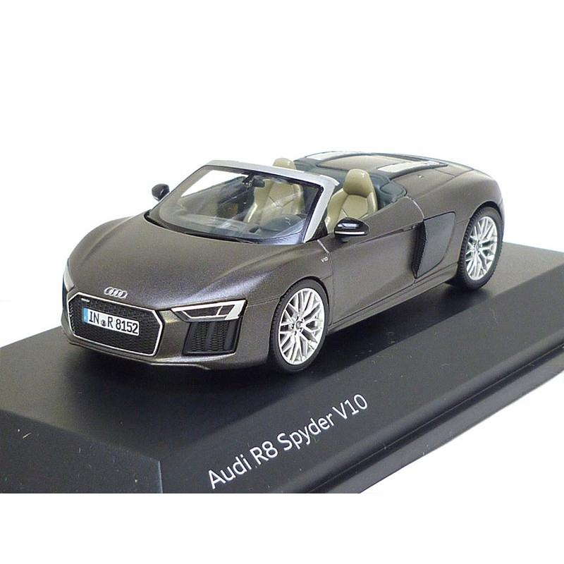 MODEL Audi R8 Spyder, Argus Brown matt, 1:43