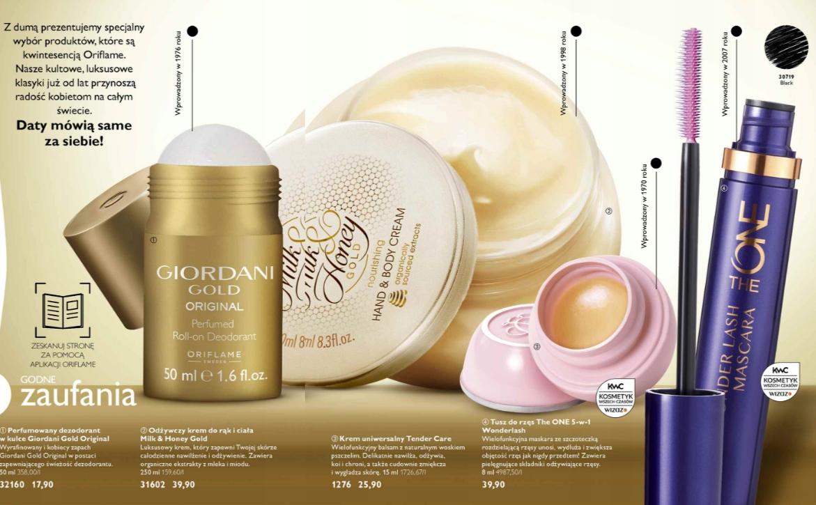 ORIFLAME Zestaw 4 produktów