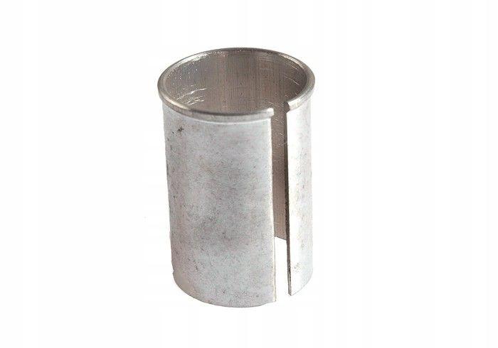 Redukcja wspornika siodła 27,2-30,2mm aluminiow