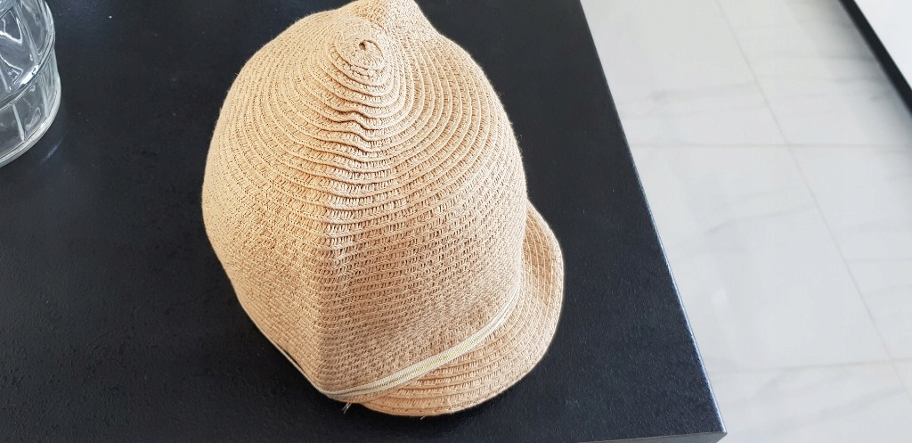 Zara czapka kapelusz wiosna lato M