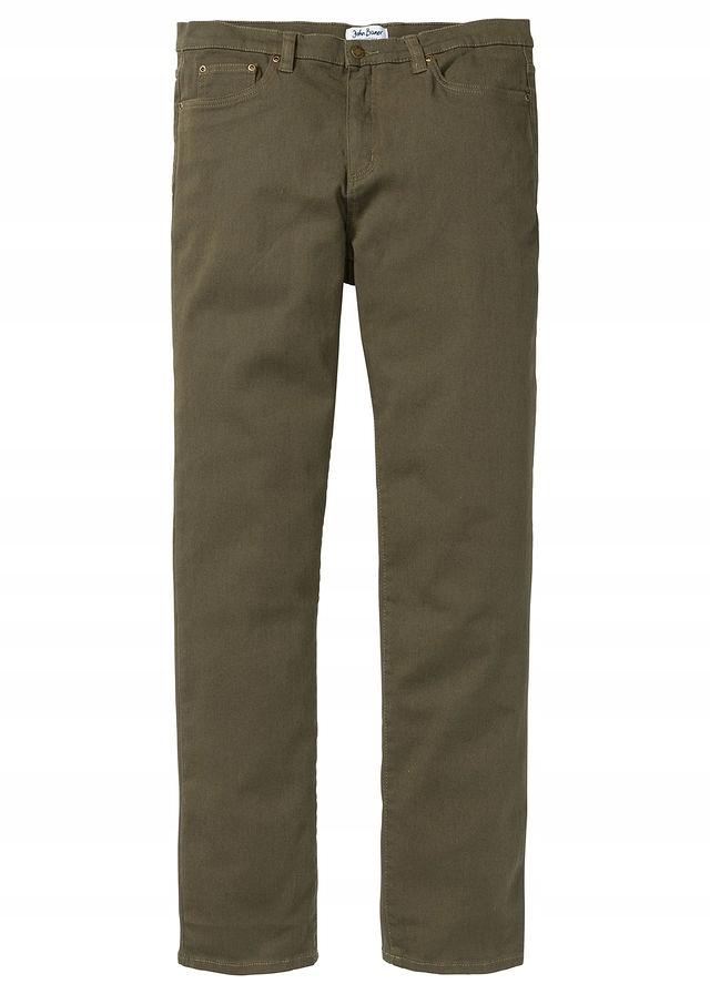 Spodnie ze stretchem Classic F zielony 46 S 943395