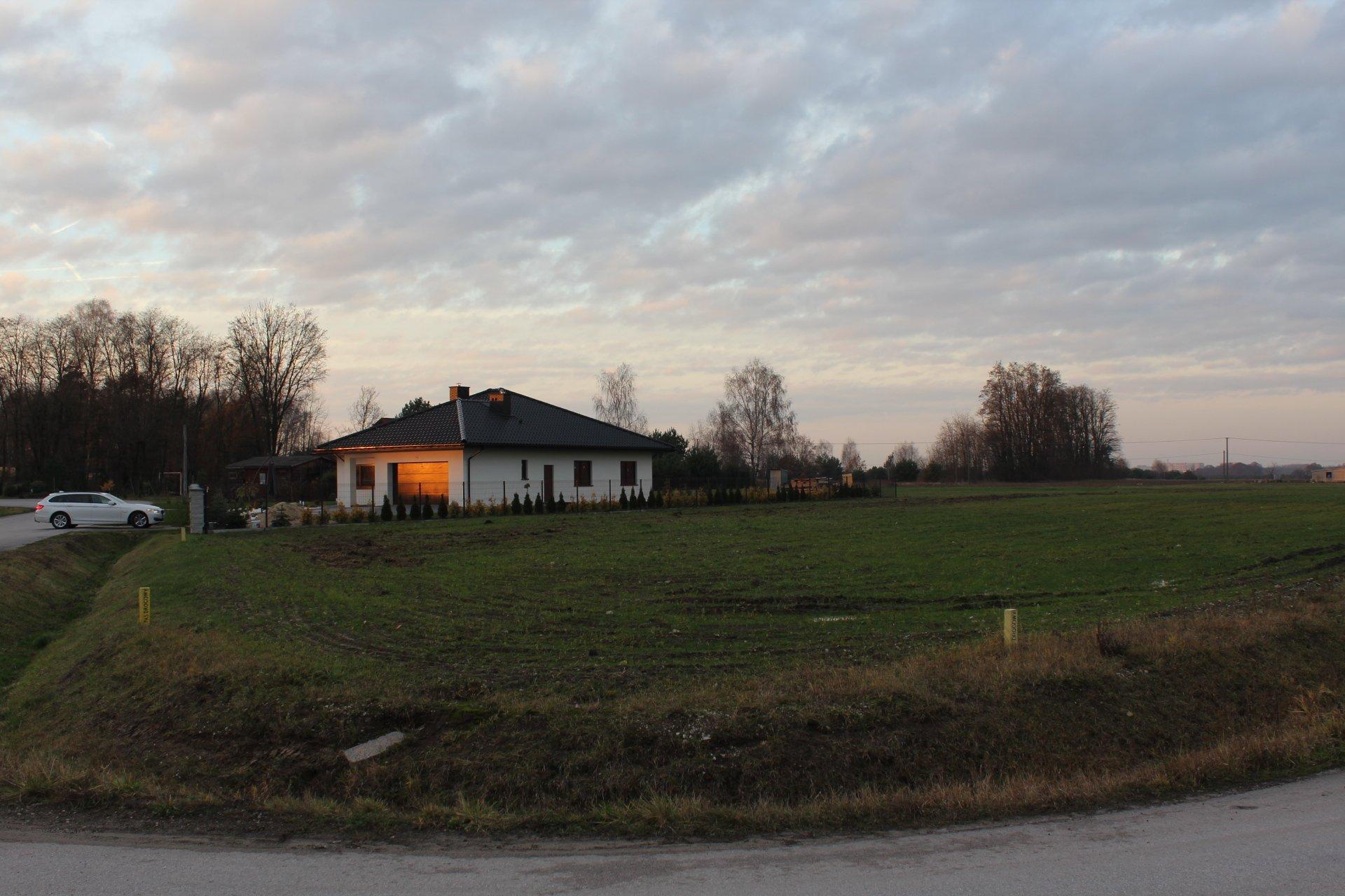 Działka Pabianice Jadwinin 1000m2 spokojna okolica