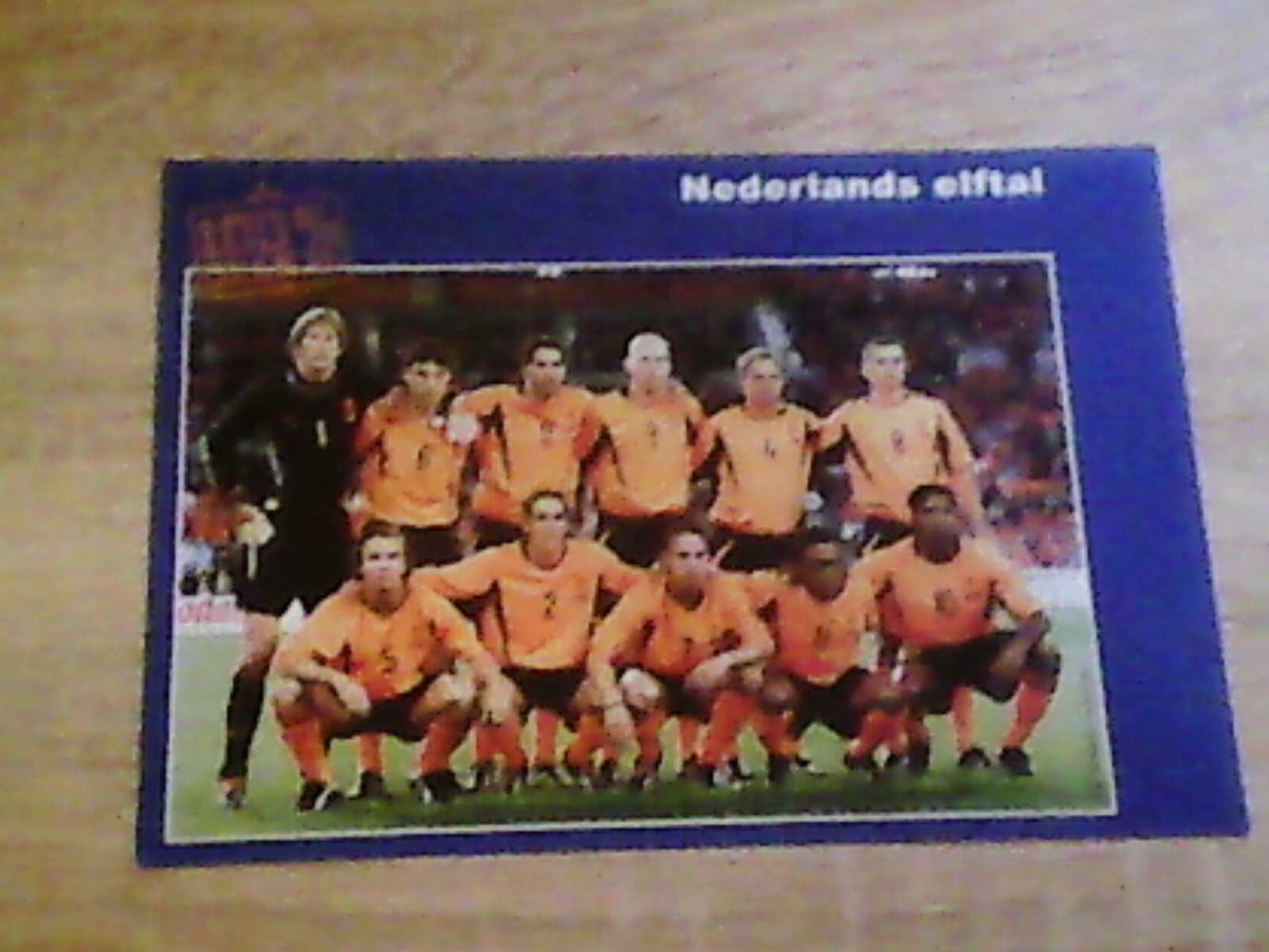 Piłka nożna - fotos zespołu Holandia