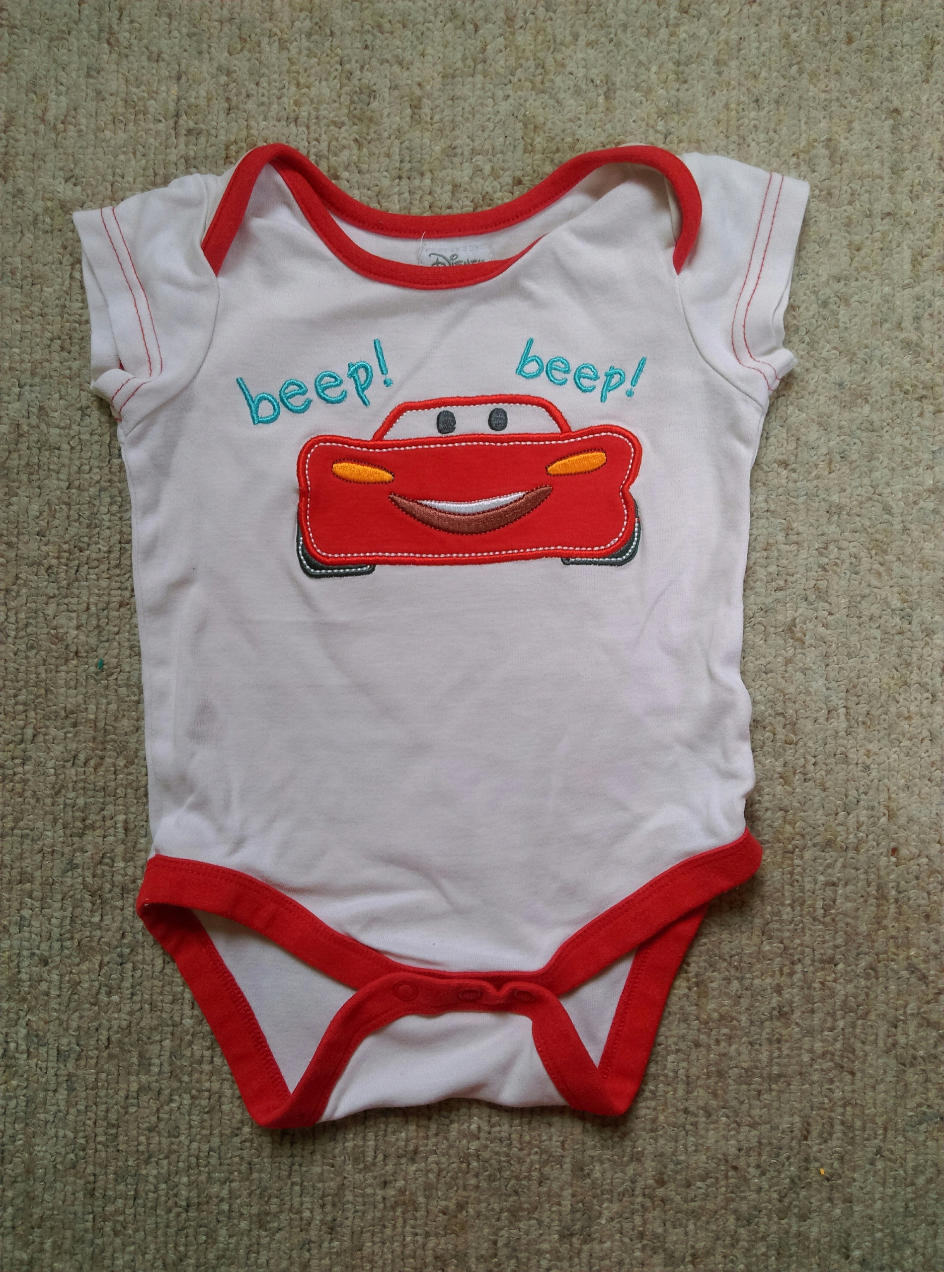 Body Disney Cars Auta Chłopiec * r.74