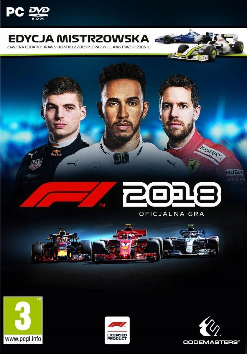 F1 2018 EDYCJA MISTRZOWSKA PL PC KLUCZ STEAM
