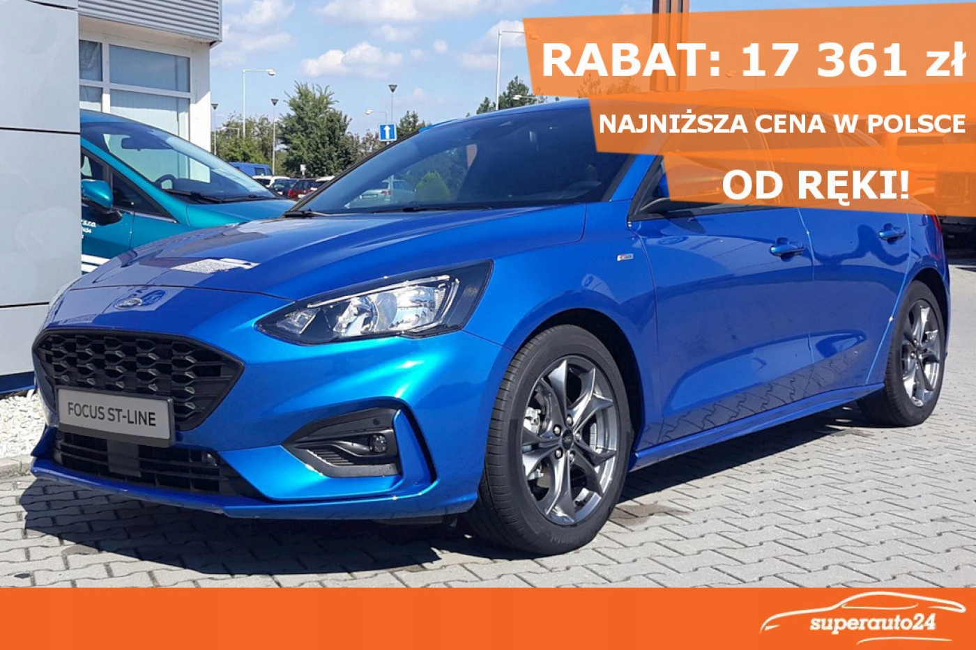Ford Focus 1.0 EcoBoost 125KM 'ST-Line