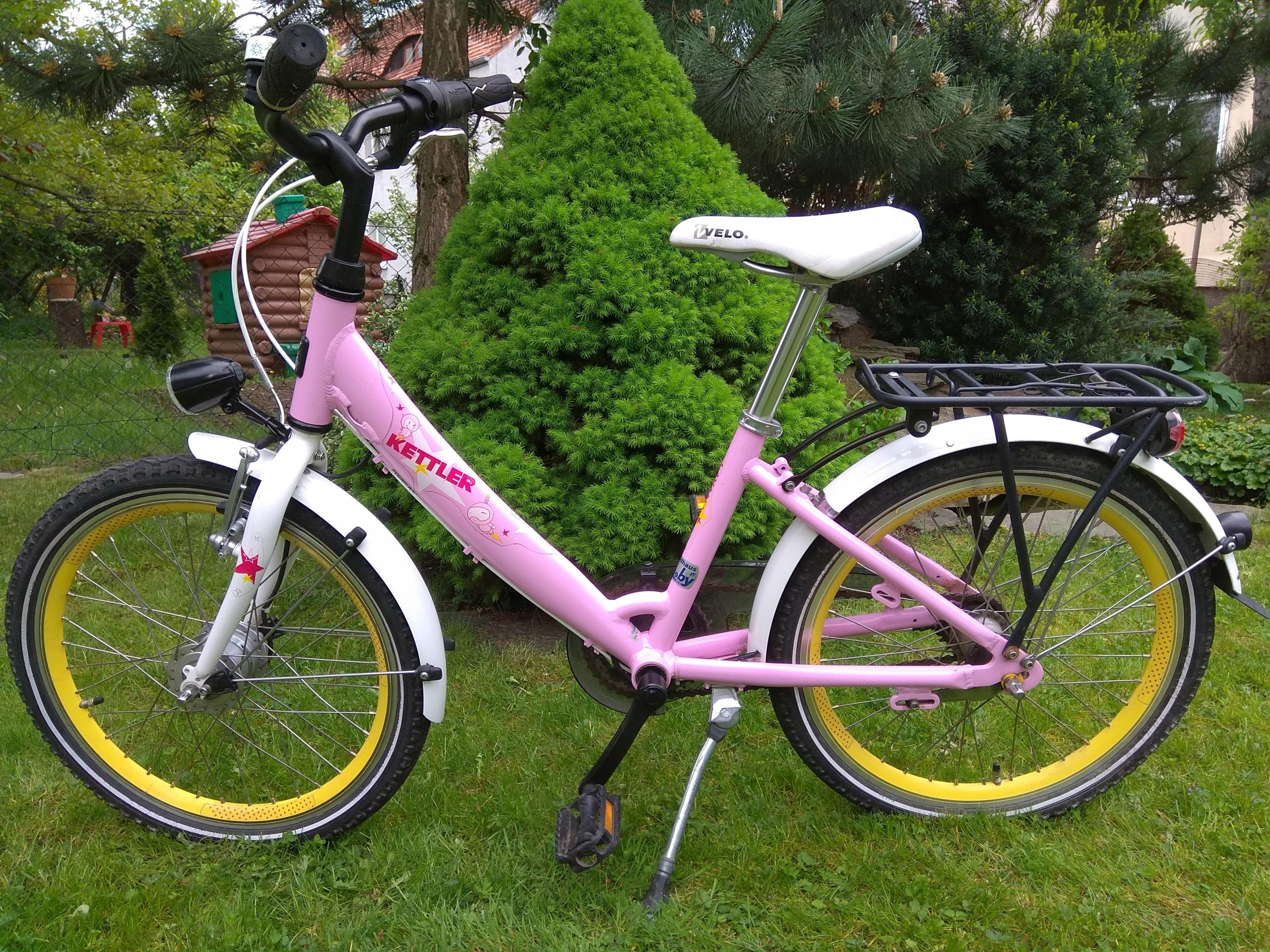 """Rower KETTLER Layana GIRL 20""""- jak nowy"""