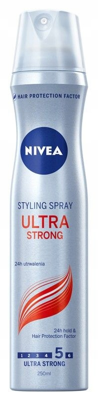 Nivea Hair Care Styling Lakier do włosów Ultra Str