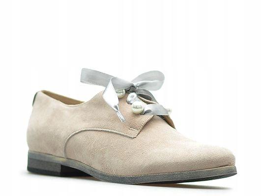Półbuty Karino 2525/071-P Róż_38 Arturo-obuwie