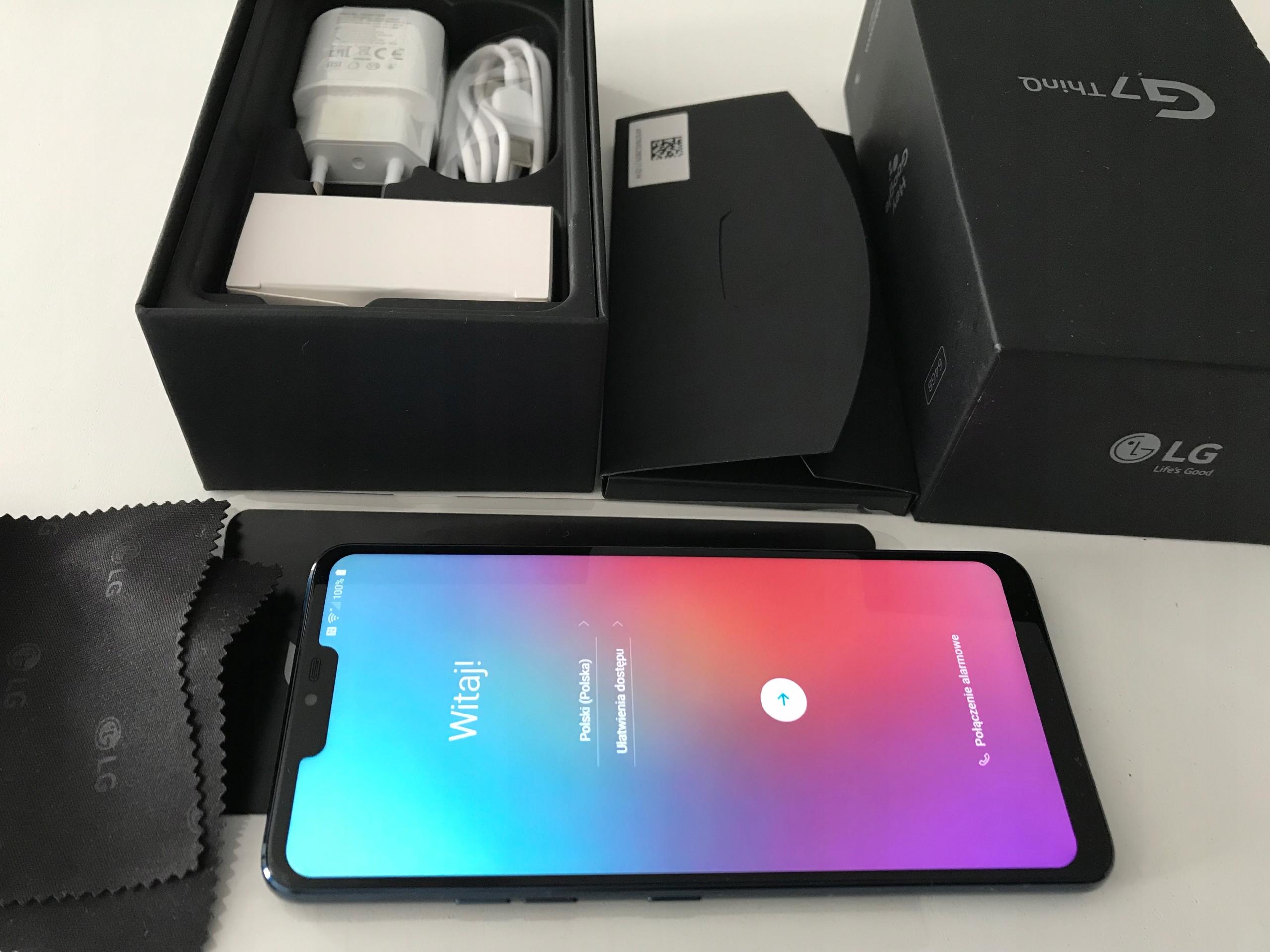 LG G7 ThinQ nowy nebieski