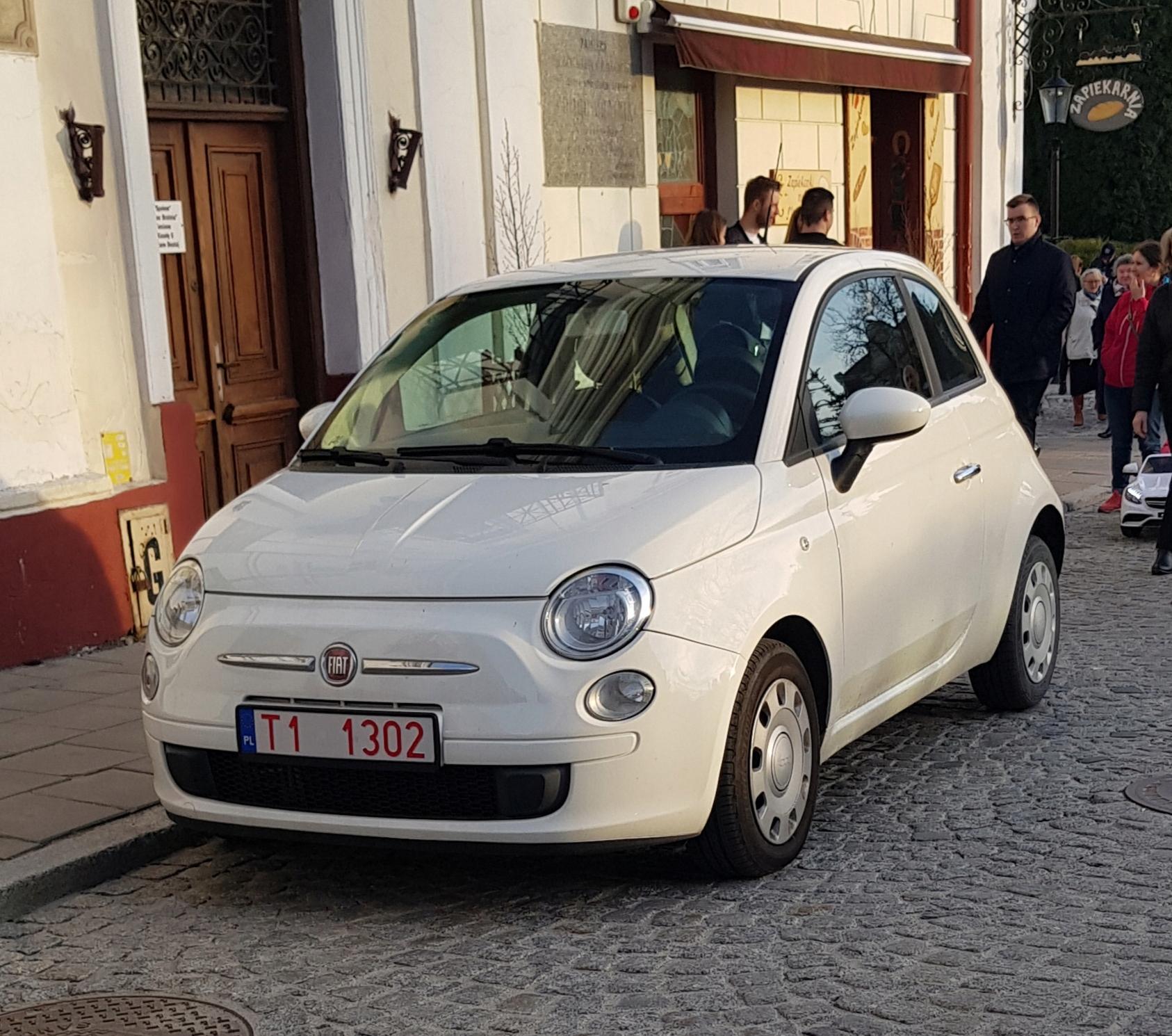 FIAT 500 1.2i klima zadbany 88tys.km zadbany