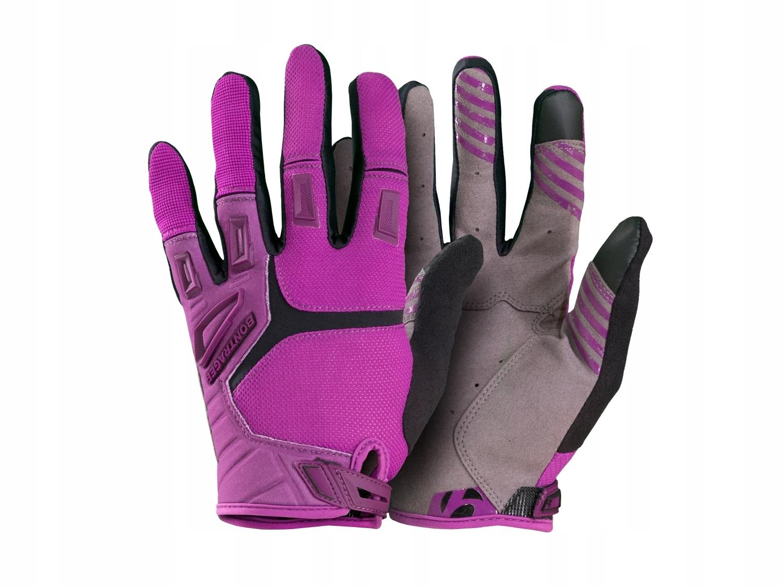 Rękawiczki Bontrager Lithos purpurowy, M