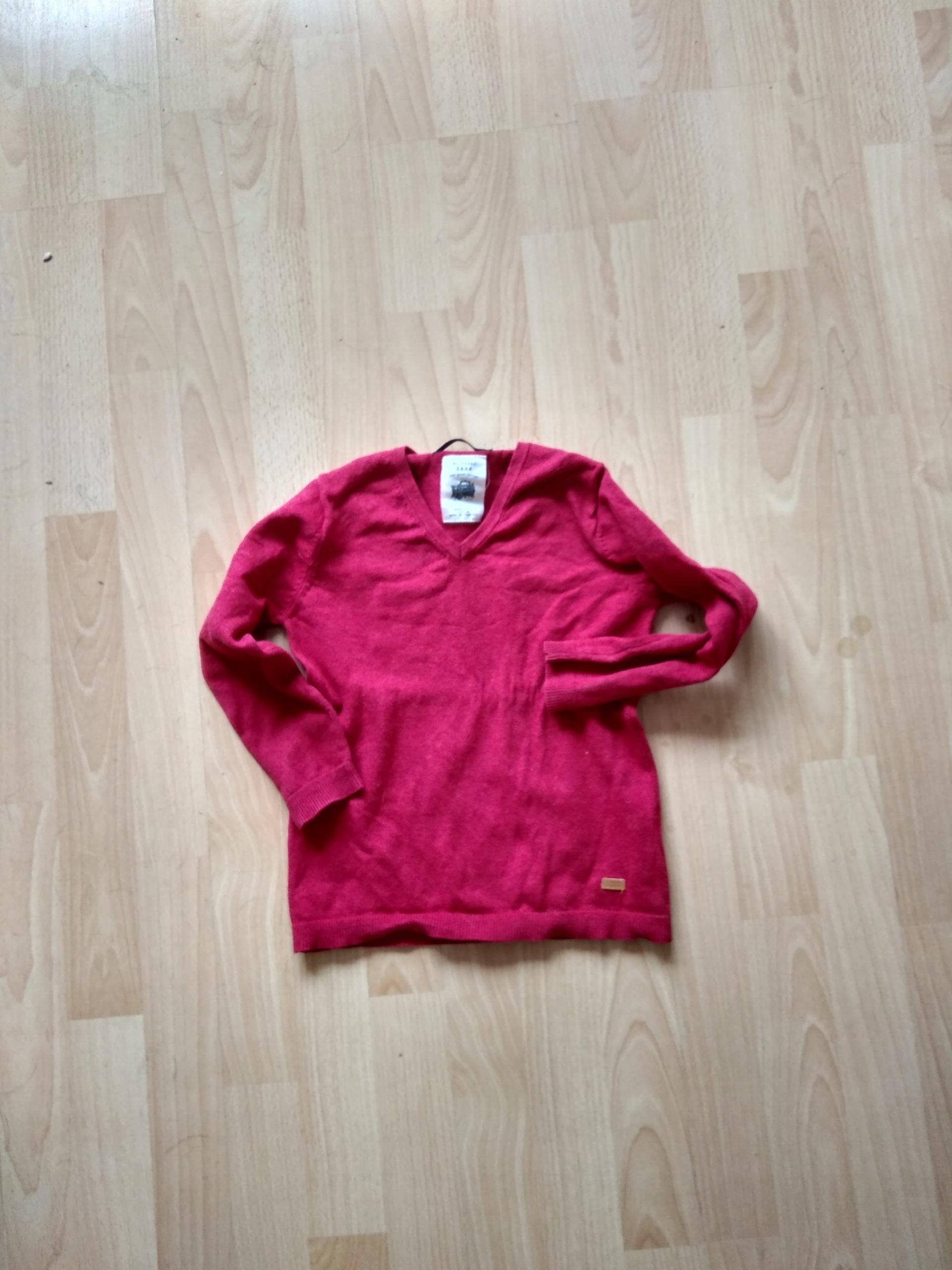 ZARA elegancki sweterek serek 116