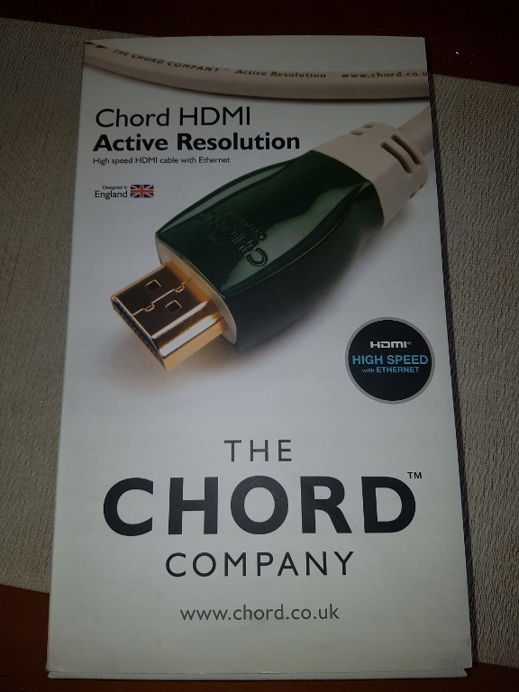 CHORD HDMI Active Resolution 5m