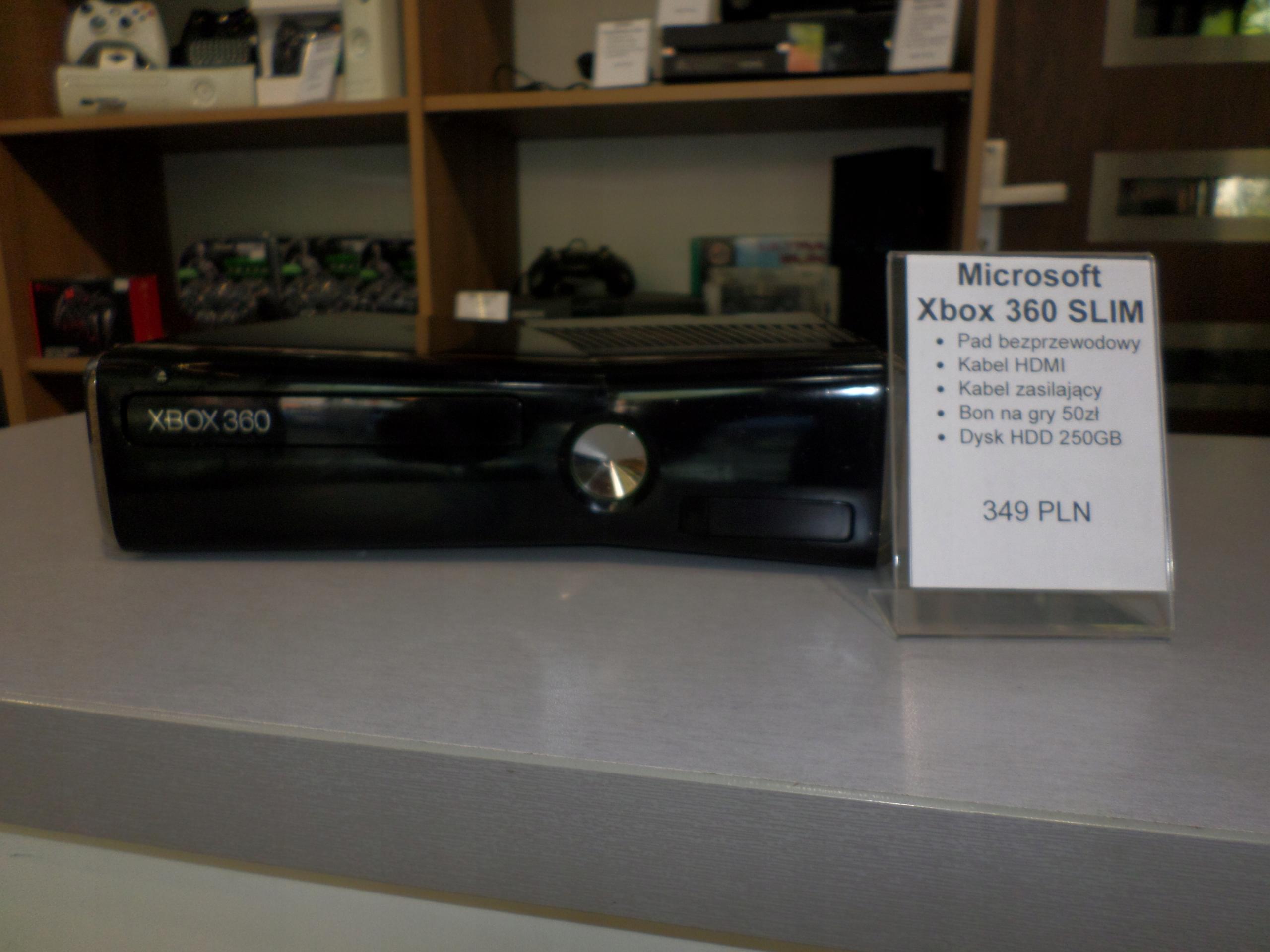 Microsoft Xbox 360 S Slim 250GB PAD GWAR 6M-CY