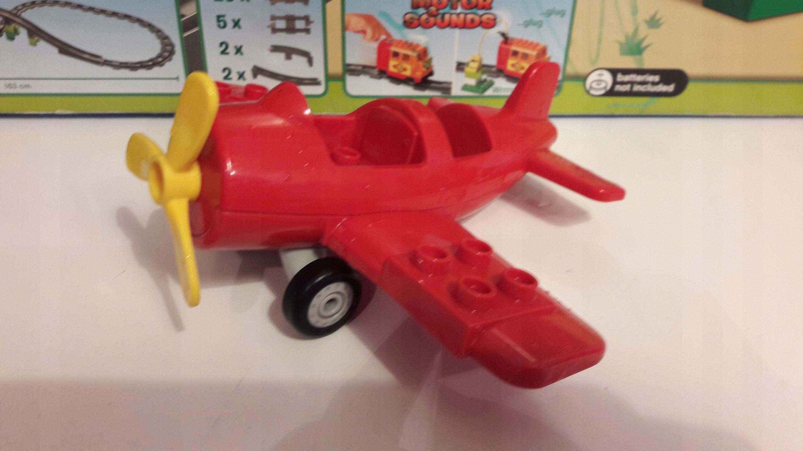 Klocki Lego Duplo Samolot 7534560640 Oficjalne Archiwum Allegro