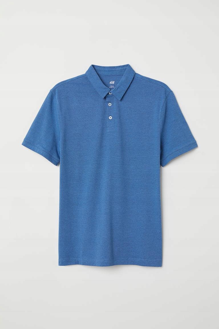 H&M Koszulka polo SLIM FIT rozm.XL