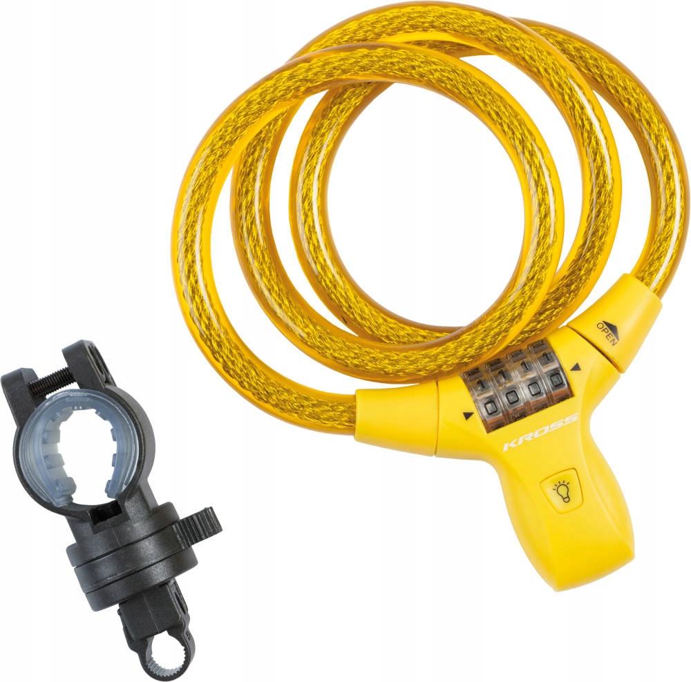 Zapięcie Kross KZS 550 szyfr 900X12MM LED żółty